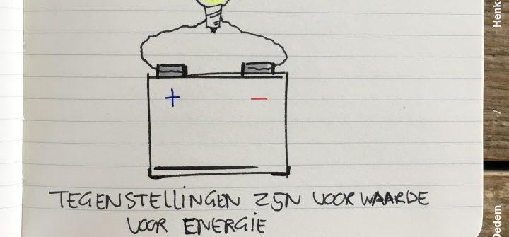 Tegenstellingen zijn voorwaarden voor energie
